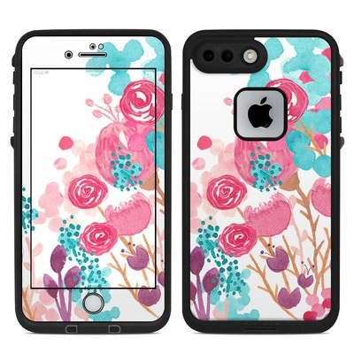Lifeproof iPhone 7 Plus Fre Case Skin - Blush Blossoms