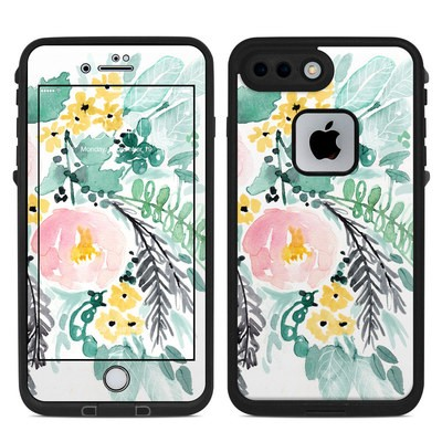 Lifeproof iPhone 7-8 Plus Fre Case Skin - Blushed Flowers