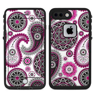 Lifeproof iPhone 7 Plus Fre Case Skin - Boho Girl Paisley