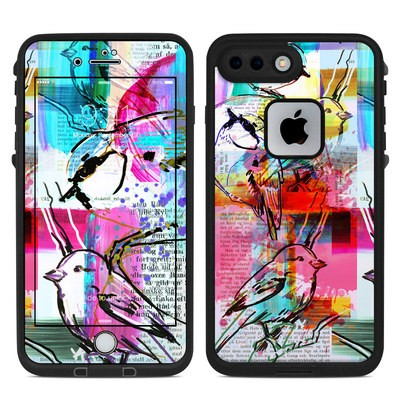 Lifeproof iPhone 7-8 Plus Fre Case Skin - Book Birds