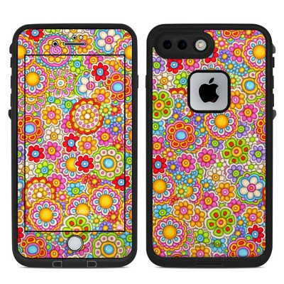 Lifeproof iPhone 7 Plus Fre Case Skin - Bright Ditzy