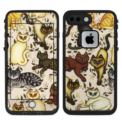 Lifeproof iPhone 7 Plus Fre Case Skin - Cats