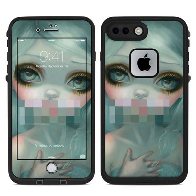 Lifeproof iPhone 7 Plus Fre Case Skin - Censored Smile