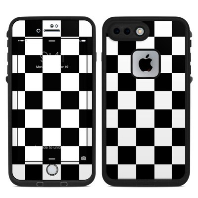 Lifeproof iPhone 7-8 Plus Fre Case Skin - Checkers