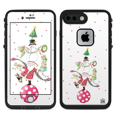 Lifeproof iPhone 7 Plus Fre Case Skin - Christmas Circus