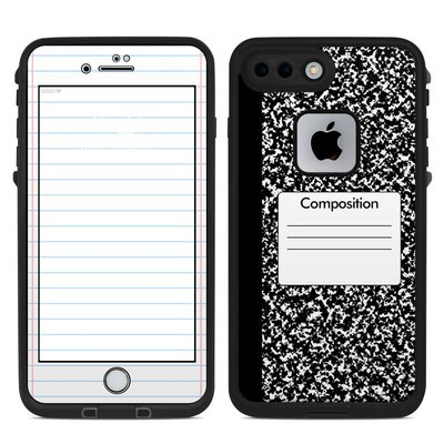 Lifeproof iPhone 7 Plus Fre Case Skin - Composition Notebook