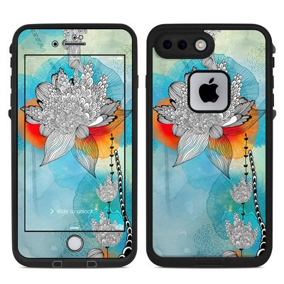 Lifeproof iPhone 7 Plus Fre Case Skin - Coral