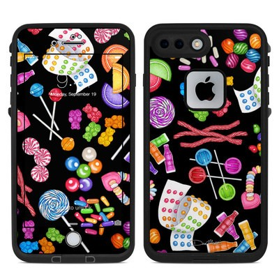 Lifeproof iPhone 7 Plus Fre Case Skin - Candy Toss
