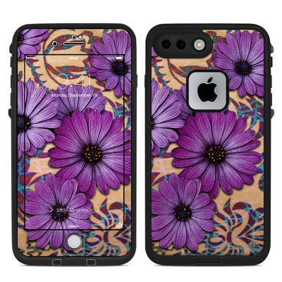 Lifeproof iPhone 7-8 Plus Fre Case Skin - Daisy Damask