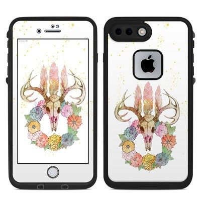 Lifeproof iPhone 7 Plus Fre Case Skin - Deer Skull