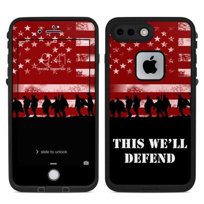 Lifeproof iPhone 7 Plus Fre Case Skin - Defend