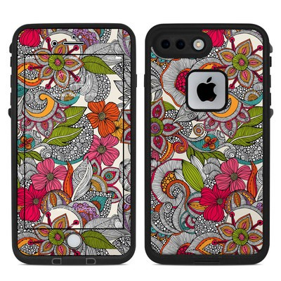 Lifeproof iPhone 7 Plus Fre Case Skin - Doodles Color