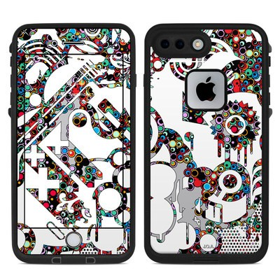 Lifeproof iPhone 7 Plus Fre Case Skin - Dots