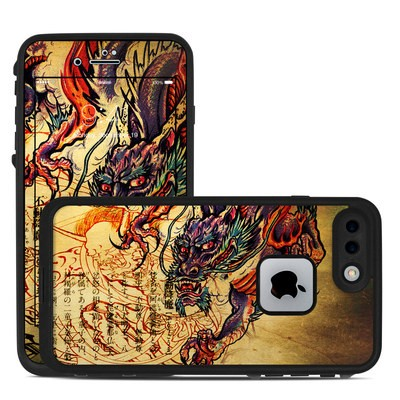 Lifeproof iPhone 7 Plus Fre Case Skin - Dragon Legend