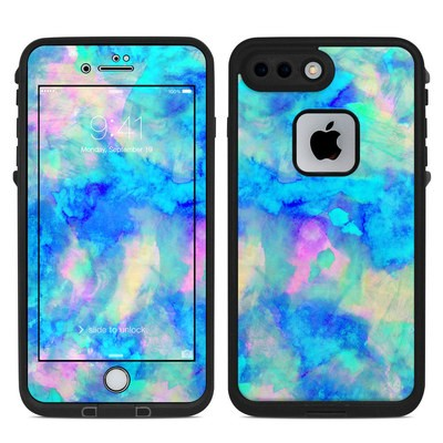 Lifeproof iPhone 7 Plus Fre Case Skin - Electrify Ice Blue