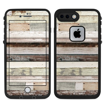Lifeproof iPhone 7 Plus Fre Case Skin - Eclectic Wood