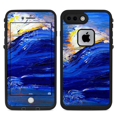 Lifeproof iPhone 7 Plus Fre Case Skin - Feeling Blue