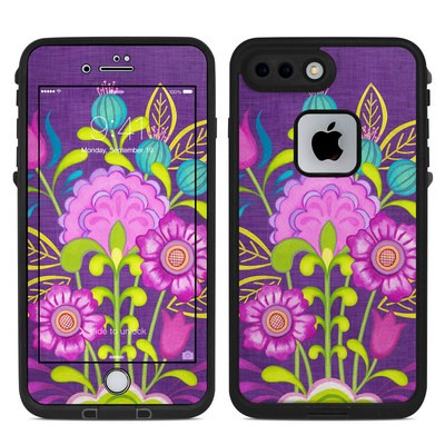 Lifeproof iPhone 7-8 Plus Fre Case Skin - Floral Bouquet