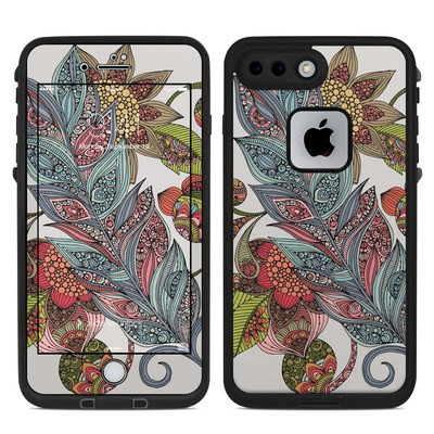 Lifeproof iPhone 7 Plus Fre Case Skin - Feather Flower