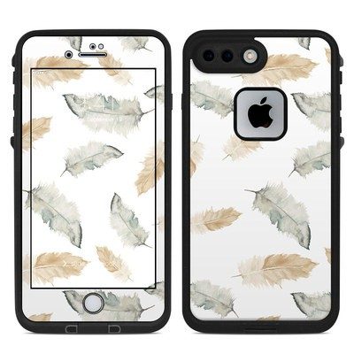 Lifeproof iPhone 7 Plus Fre Case Skin - Feathers