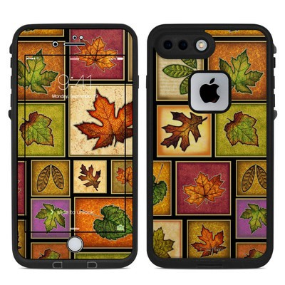 Lifeproof iPhone 7-8 Plus Fre Case Skin - Fall Leaves
