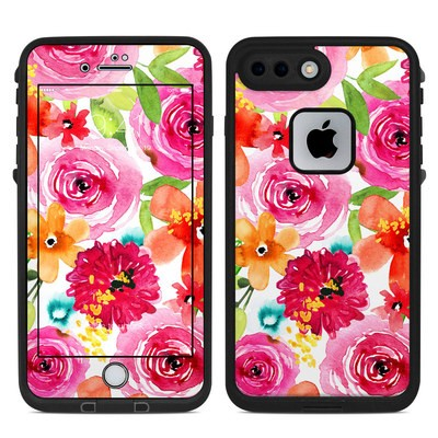 Lifeproof iPhone 7 Plus Fre Case Skin - Floral Pop