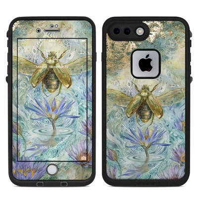Lifeproof iPhone 7-8 Plus Fre Case Skin - When Flowers Dream