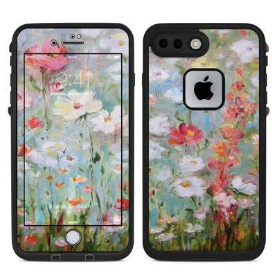 Lifeproof iPhone 7 Plus Fre Case Skin - Flower Blooms