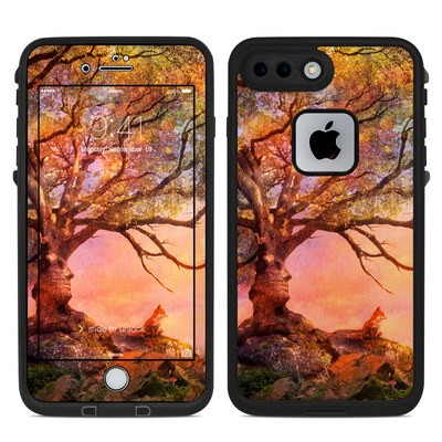 Lifeproof iPhone 7 Plus Fre Case Skin - Fox Sunset