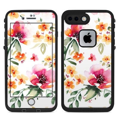 Lifeproof iPhone 7 Plus Fre Case Skin - Fresh Flowers