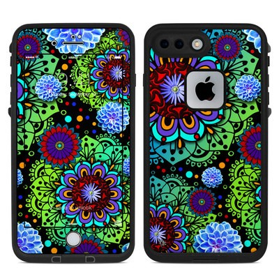 Lifeproof iPhone 7 Plus Fre Case Skin - Funky Floratopia