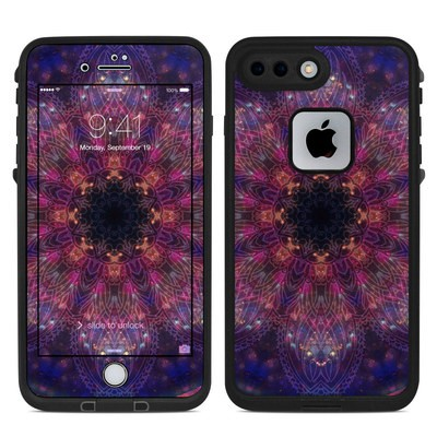 Lifeproof iPhone 7 Plus Fre Case Skin - Galactic Mandala
