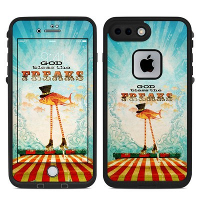 Lifeproof iPhone 7-8 Plus Fre Case Skin - God Bless The Freaks