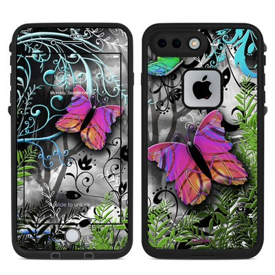 Lifeproof iPhone 7 Plus Fre Case Skin - Goth Forest