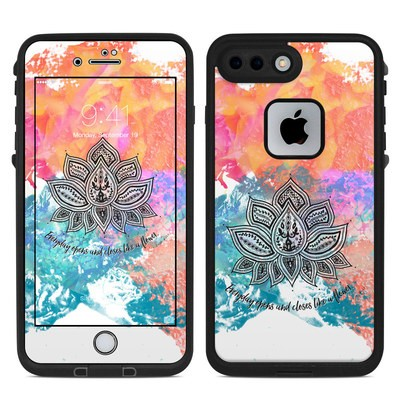 Lifeproof iPhone 7 Plus Fre Case Skin - Happy Lotus