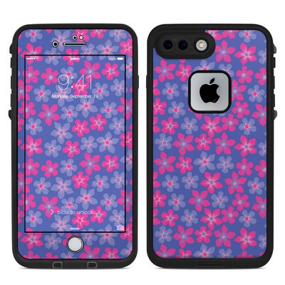 Lifeproof iPhone 7-8 Plus Fre Case Skin - Hibiscus