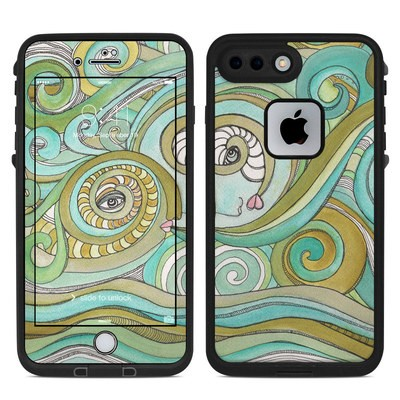 Lifeproof iPhone 7-8 Plus Fre Case Skin - Honeydew Ocean