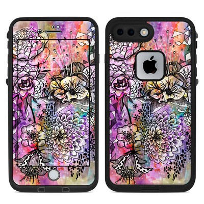 Lifeproof iPhone 7 Plus Fre Case Skin - Hot House Flowers