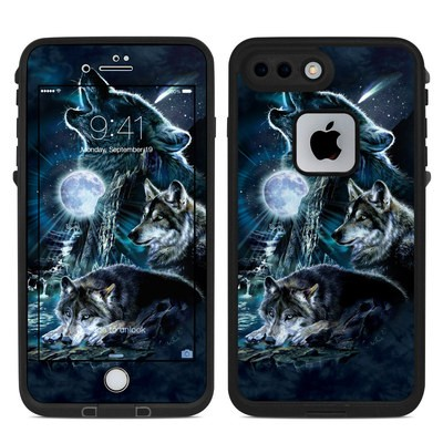 Lifeproof iPhone 7-8 Plus Fre Case Skin - Howling