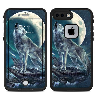 Lifeproof iPhone 7 Plus Fre Case Skin - Howling Moon Soloist