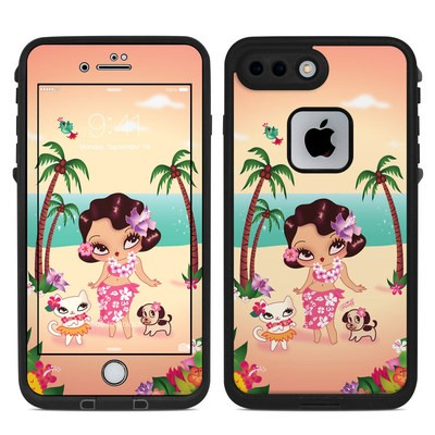 Lifeproof iPhone 7-8 Plus Fre Case Skin - Hula Lulu