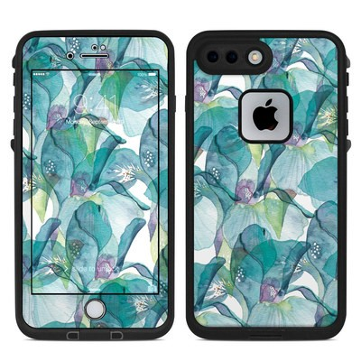 Lifeproof iPhone 7-8 Plus Fre Case Skin - Iris Petals