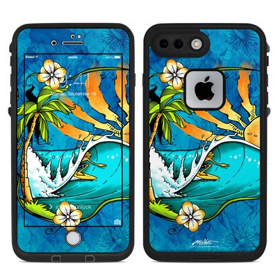Lifeproof iPhone 7-8 Plus Fre Case Skin - Island Playground