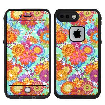 Lifeproof iPhone 7 Plus Fre Case Skin - Jubilee Blooms