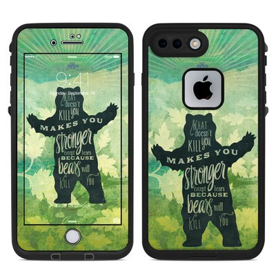 Lifeproof iPhone 7 Plus Fre Case Skin - What Doesnt Kill You