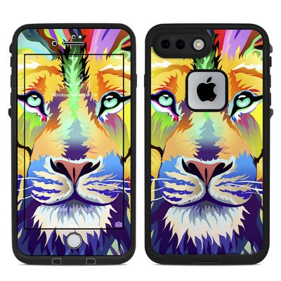 Lifeproof iPhone 7 Plus Fre Case Skin - King of Technicolor