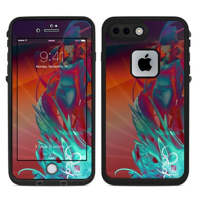 Lifeproof iPhone 7 Plus Fre Case Skin - Kokeshi 3