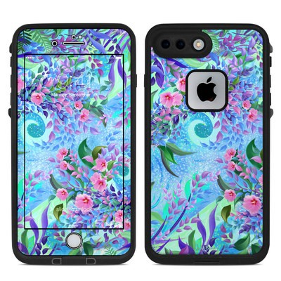 Lifeproof iPhone 7 Plus Fre Case Skin - Lavender Flowers