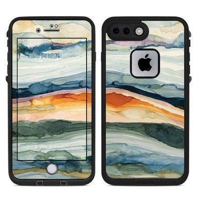 Lifeproof iPhone 7-8 Plus Fre Case Skin - Layered Earth