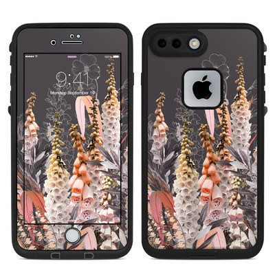 Lifeproof iPhone 7-8 Plus Fre Case Skin - Lupines Chocolate